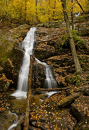 Fall Comes to Crabtree Falls, Nelson County, VA