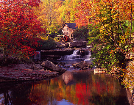Ben Greenburg Photography Gristmill On Glade Creek